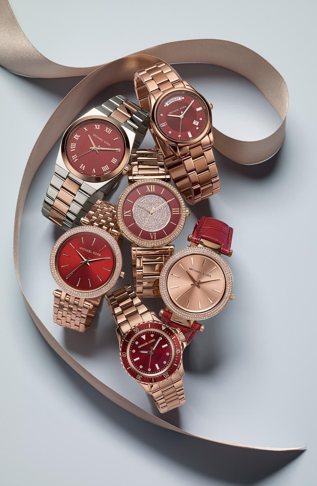 Alternate Image 5  - Michael Kors 'Colette' Round Bracelet Watch, 34mm