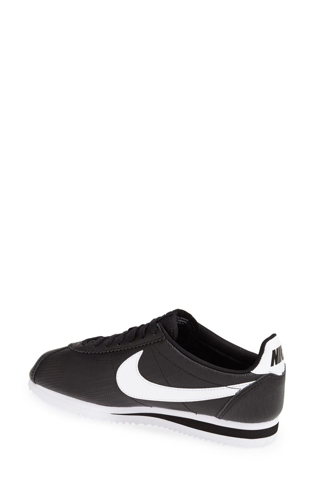 Alternate Image 2  - Nike 'Classic Cortez' Leather Sneaker (Women)