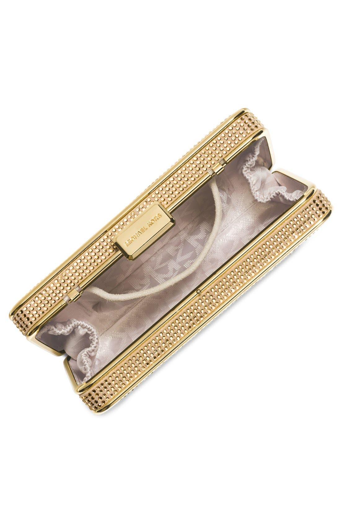 Alternate Image 2  - MICHAEL Michael Kors 'Elsie' Crystal Box Clutch
