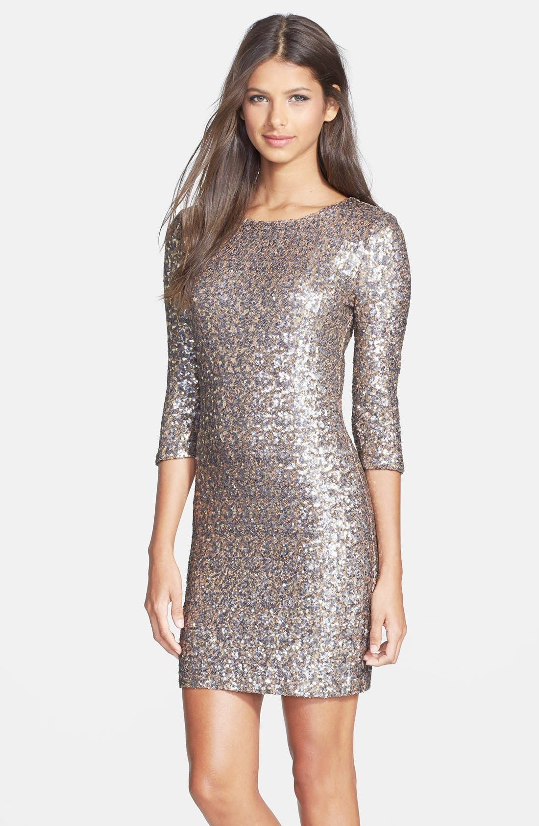 Alternate Image 1 Selected - BB Dakota 'Valet' Sequin Body-Con Dress