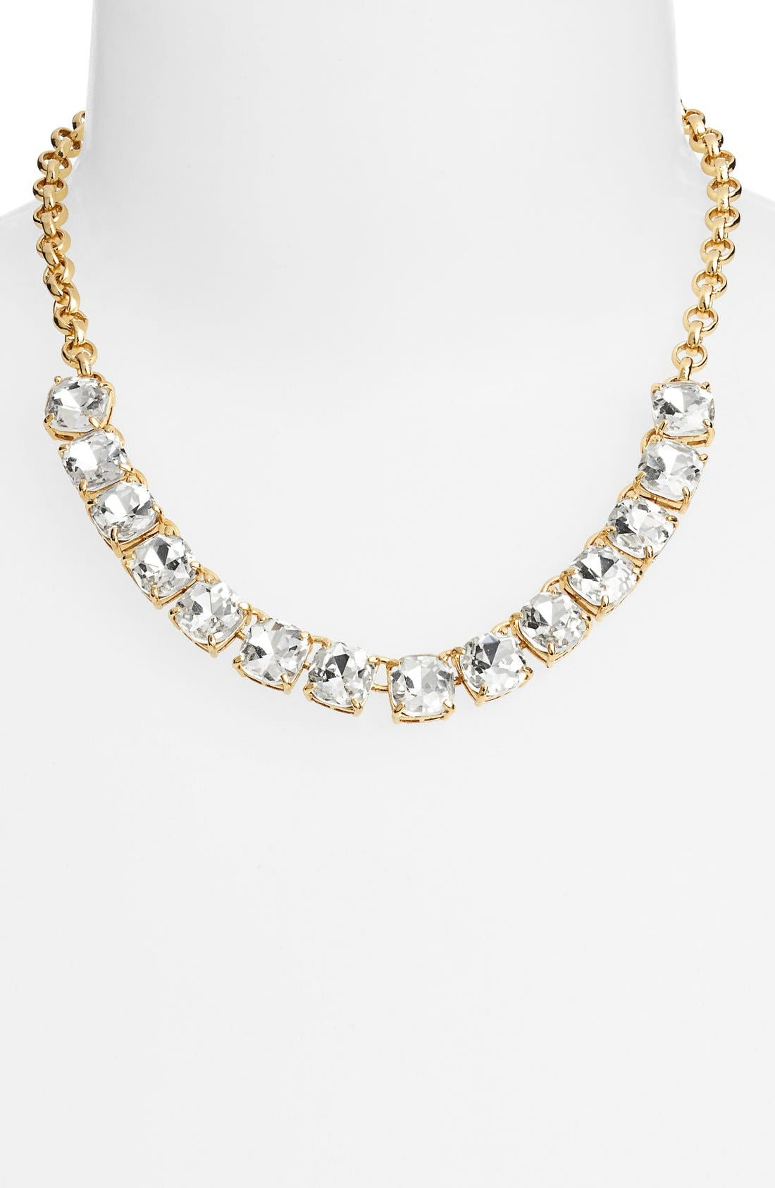 Alternate Image 2  - kate spade new york 'squared away' bib necklace