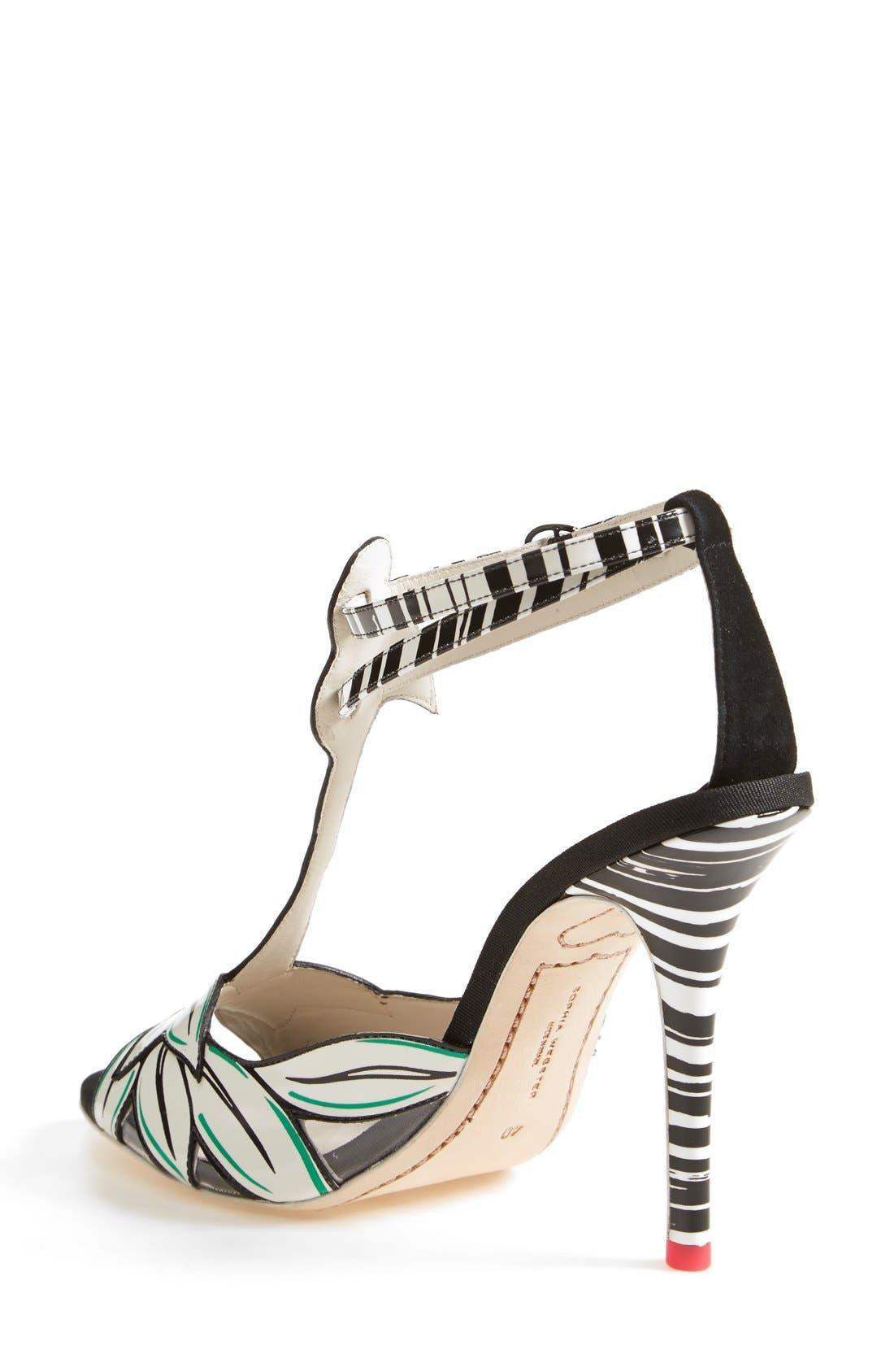 Alternate Image 2  - Sophia Webster 'Flamingo' T-Strap Leather Sandal (Women)