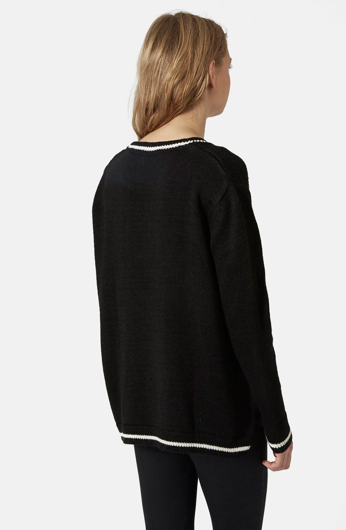 Alternate Image 2  - Topshop 'Rolling Stone' Sweater