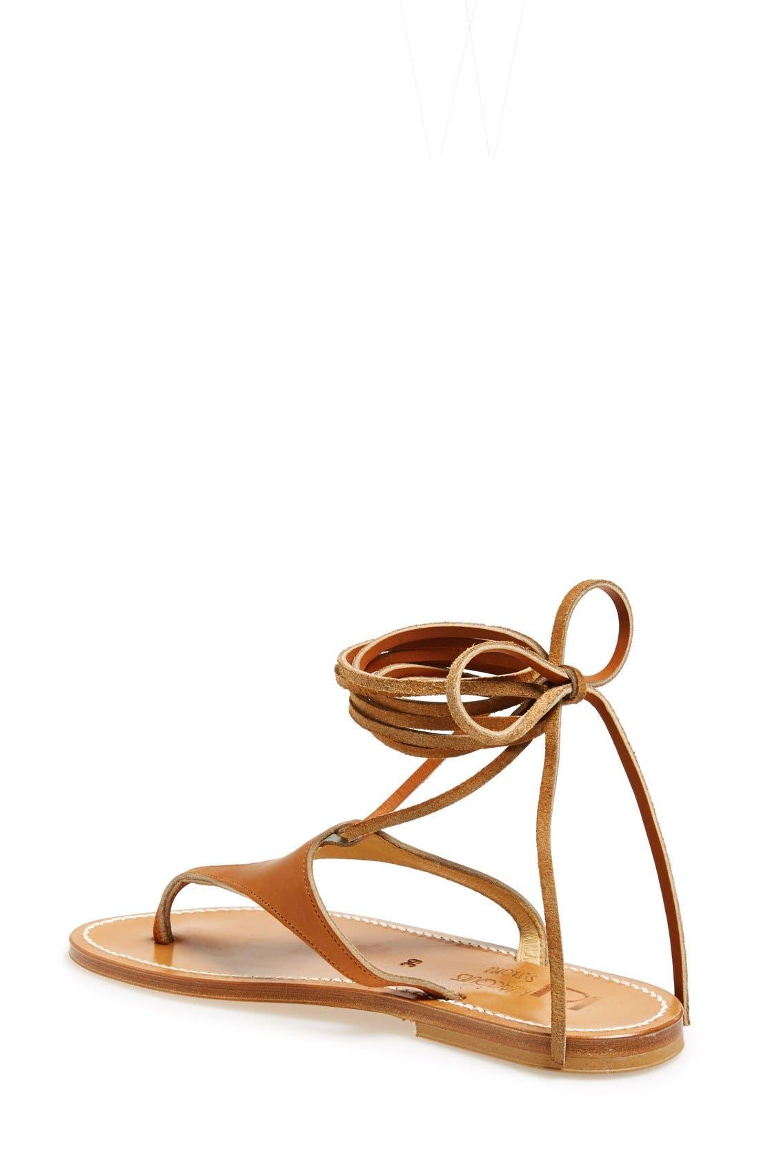 Alternate Image 2  - K.Jacques St. Tropez Ankle Wrap Thong Sandal (Women)