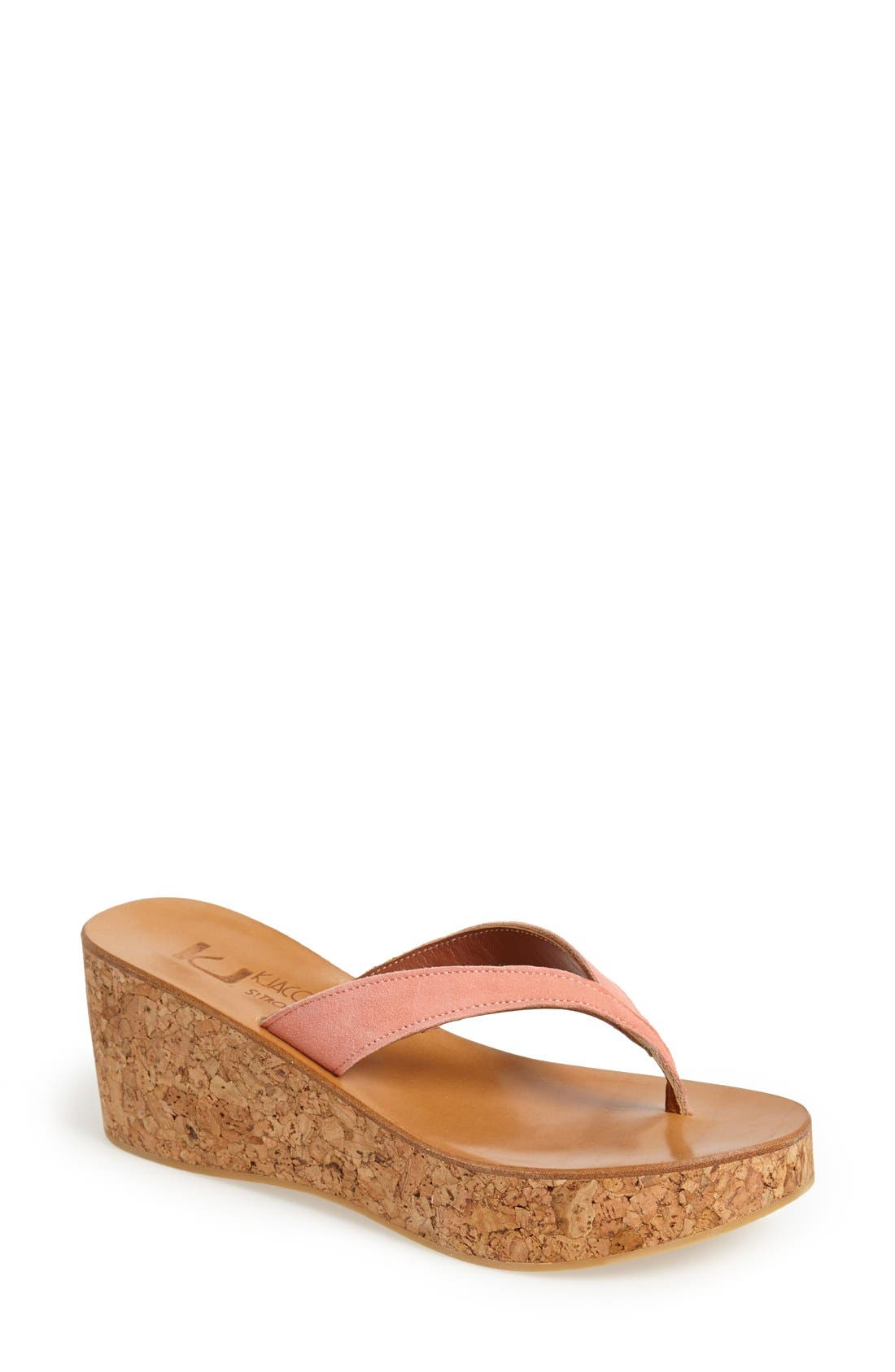 Alternate Image 1 Selected - K.Jacques St. Tropez 'Diorite' Wedge Sandal (Women)