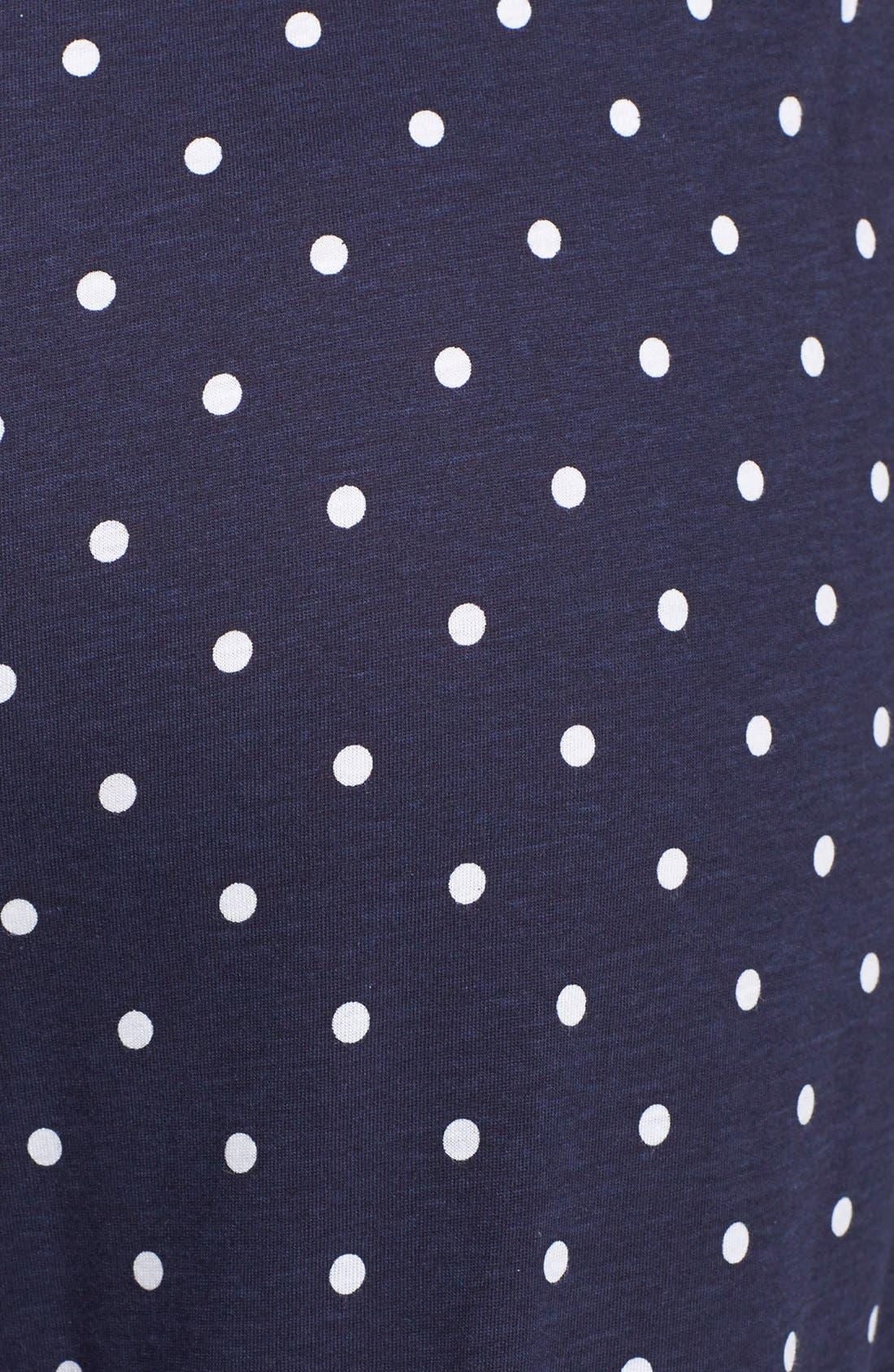 Alternate Image 3  - Lauren Ralph Lauren Dot Lounge Pants