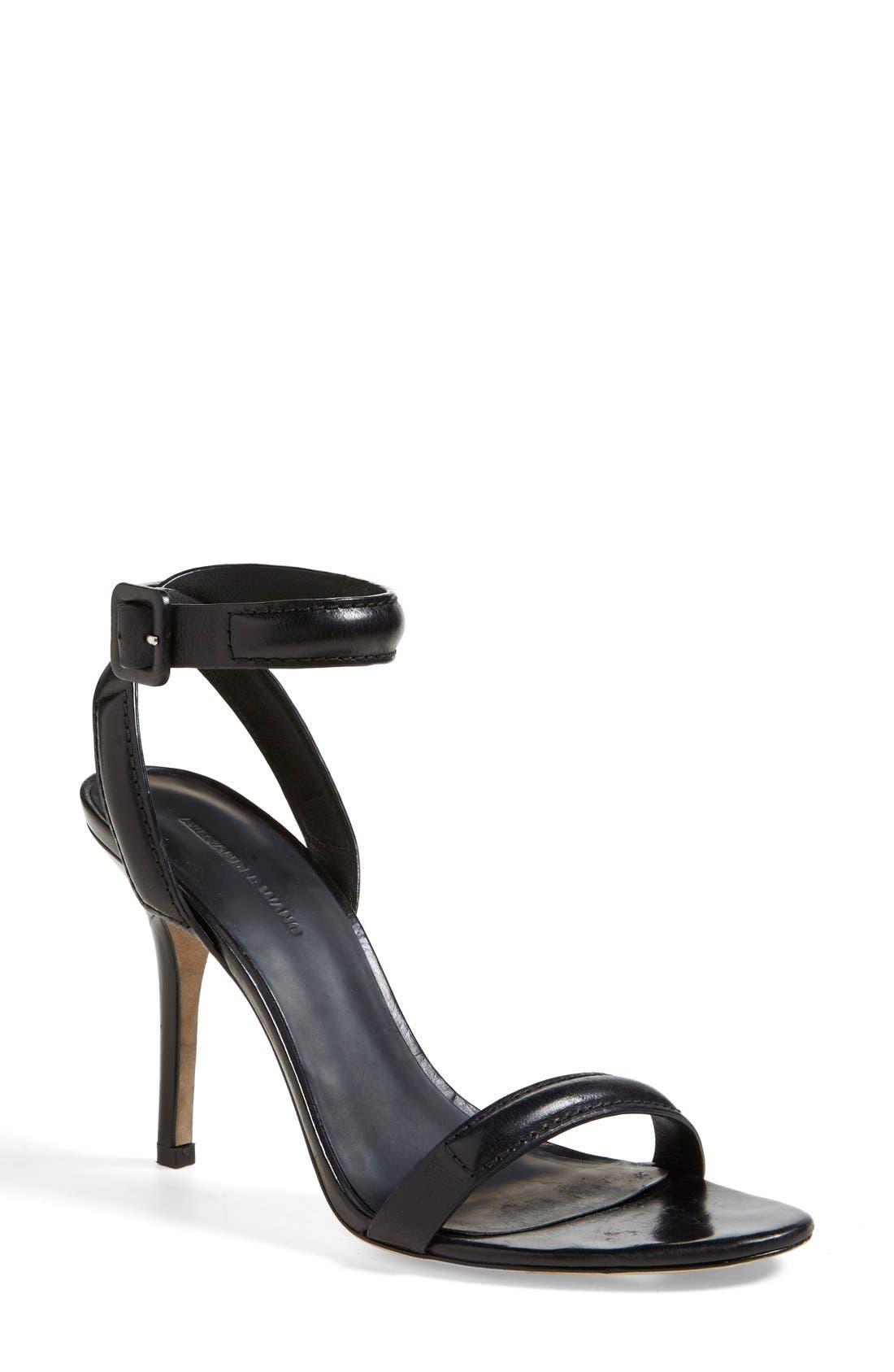 Alternate Image 1 Selected - Alexander Wang 'Antonia' Ankle Strap Sandal (Women)