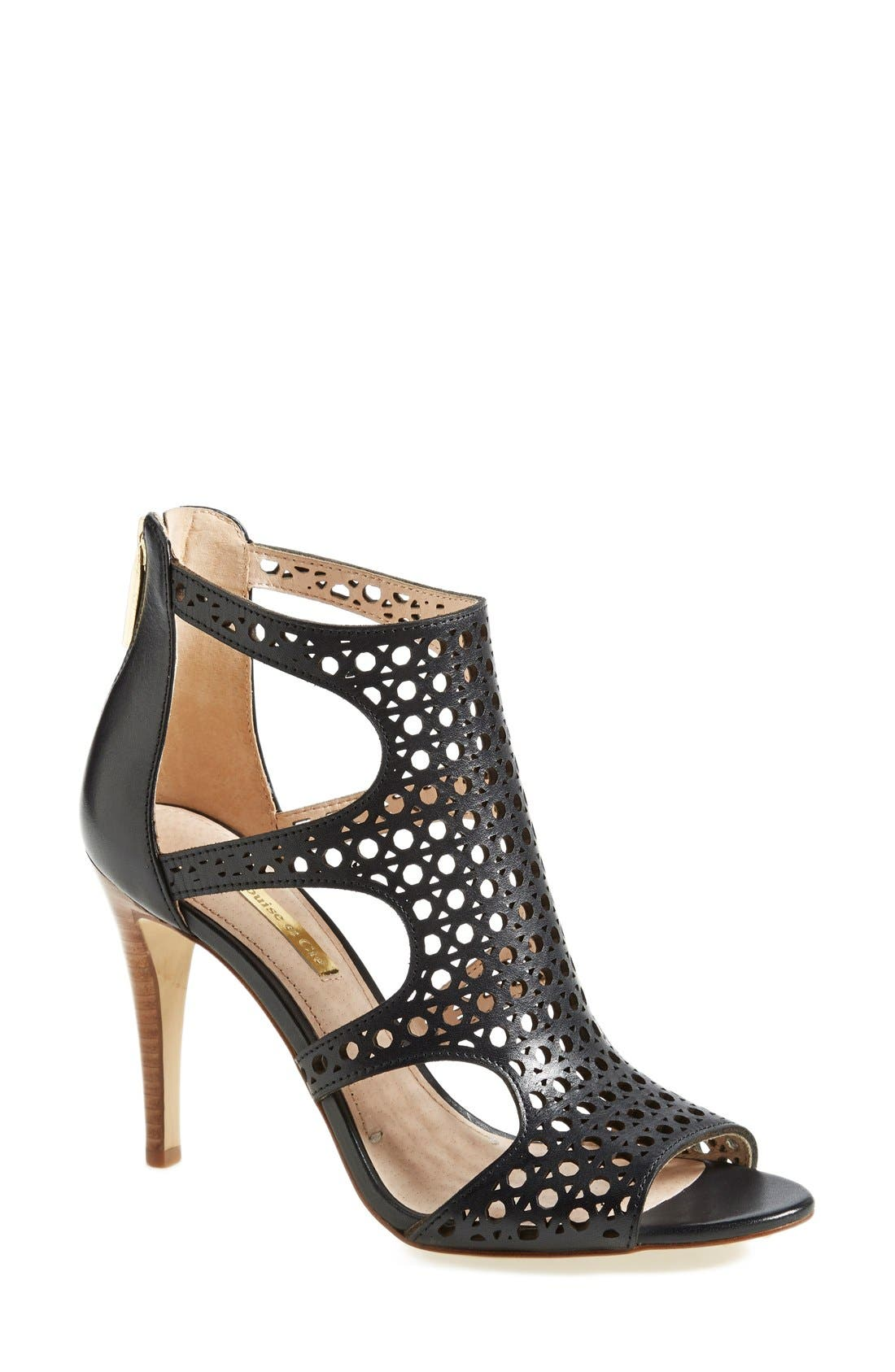 Alternate Image 1 Selected - Louise et Cie 'Winnie 2' Perforated Leather Pump (Women)