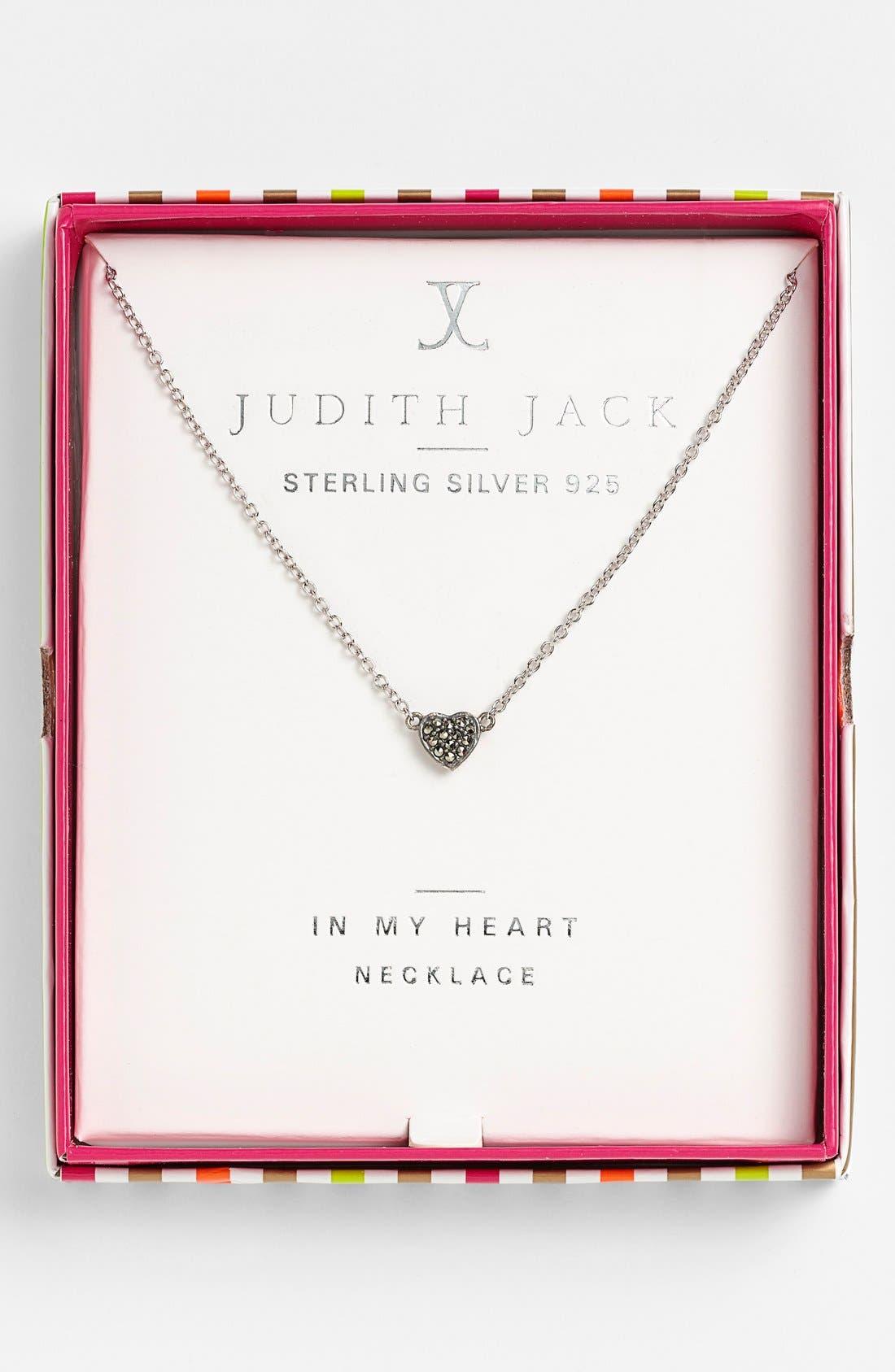 Alternate Image 4  - Judith Jack 'Mini Motives' Reversible Heart Pendant Necklace