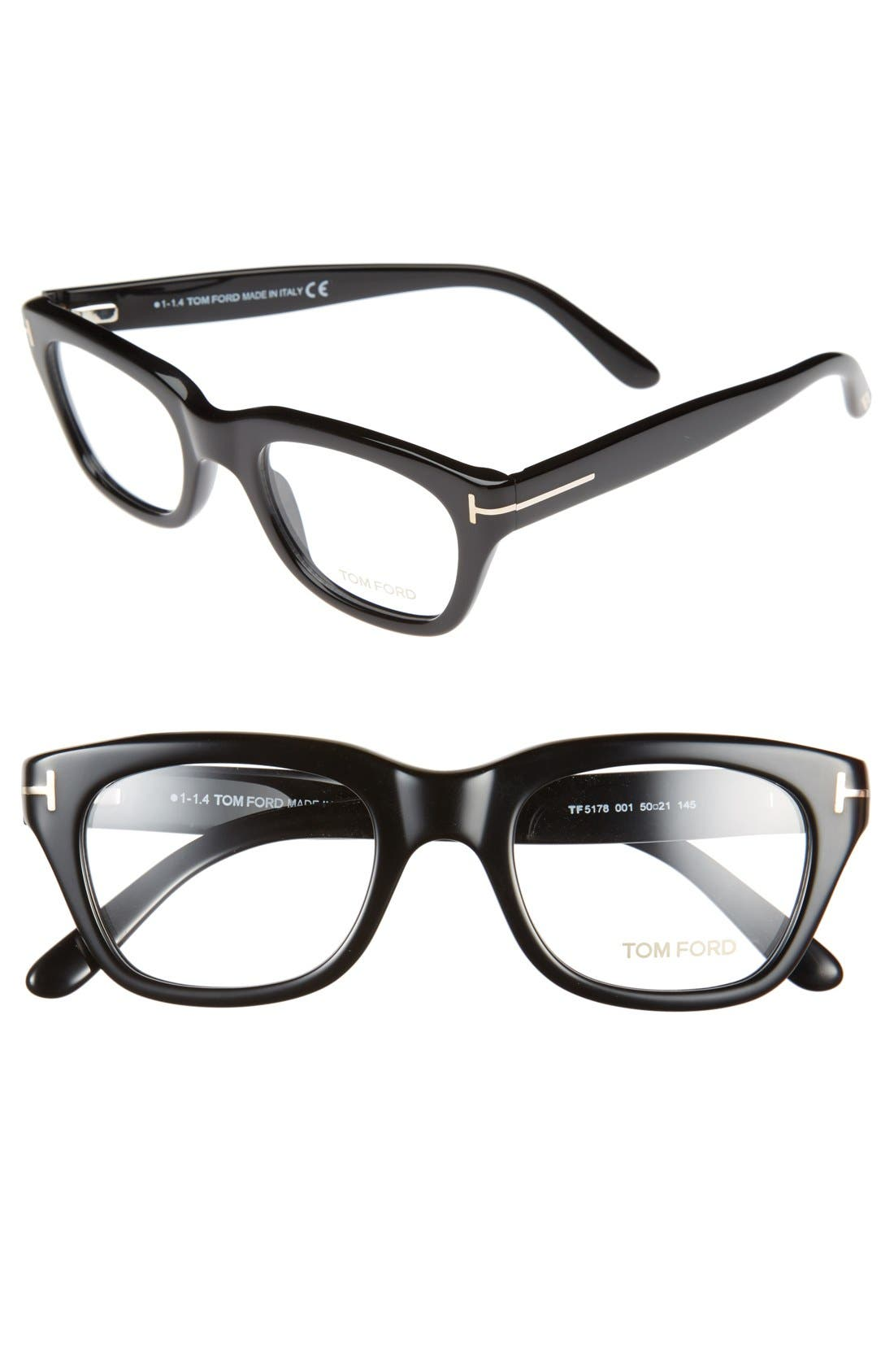 Main Image - Tom Ford 50mm Optical Glasses (Online Only)