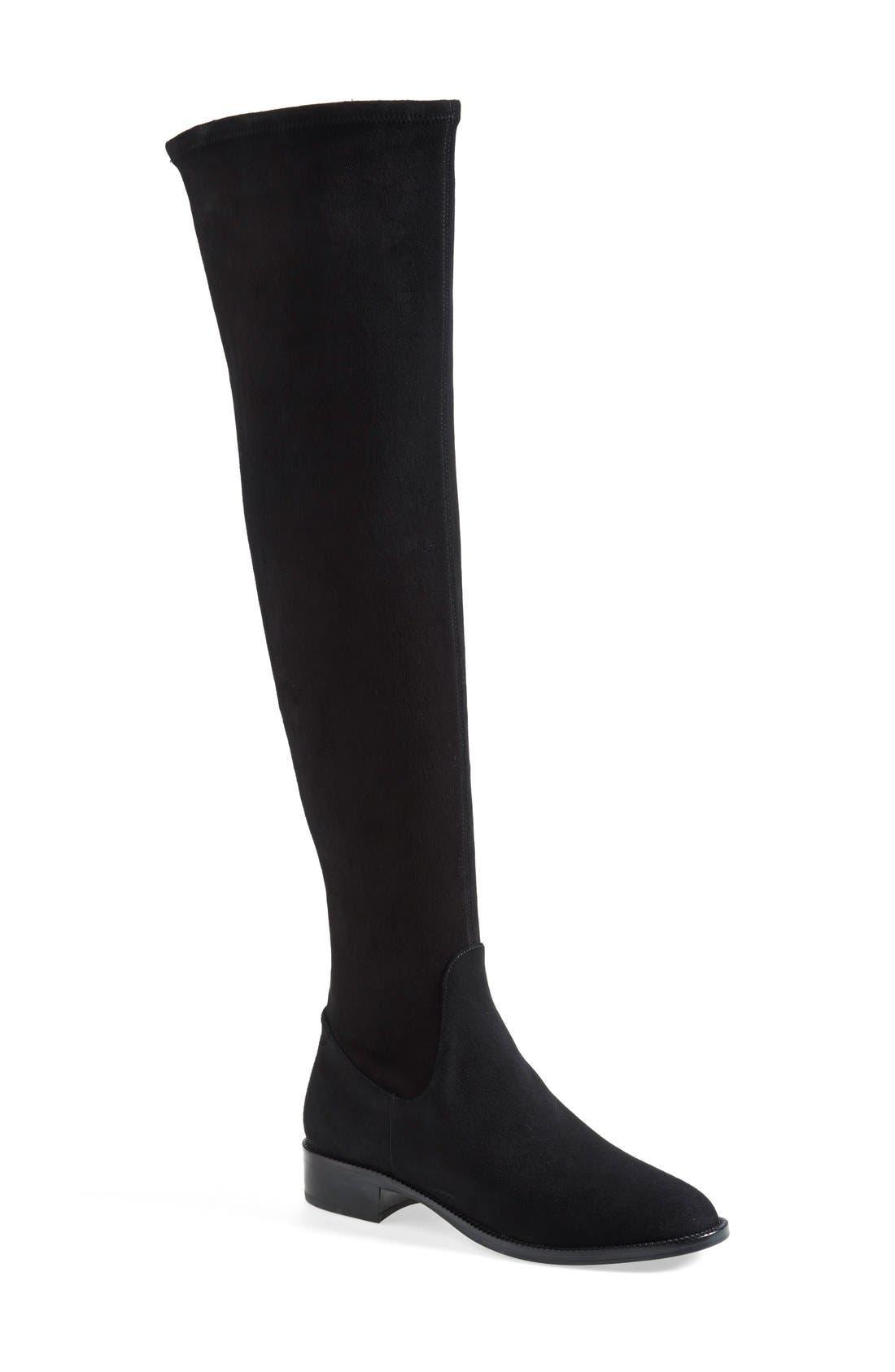 Main Image - Via Spiga 'Boni' Over the Knee Boot (Women)