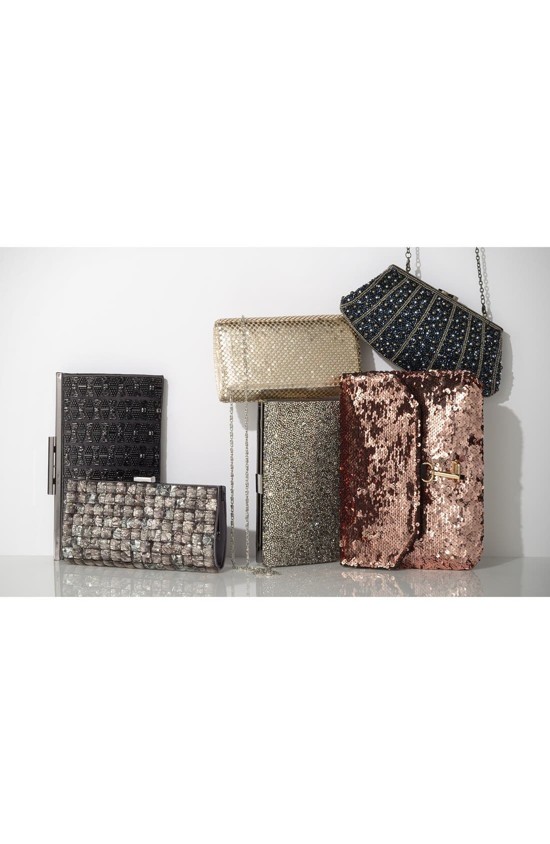 Alternate Image 6  - Deux Lux 'Ariel' Convertible Sequin Clutch