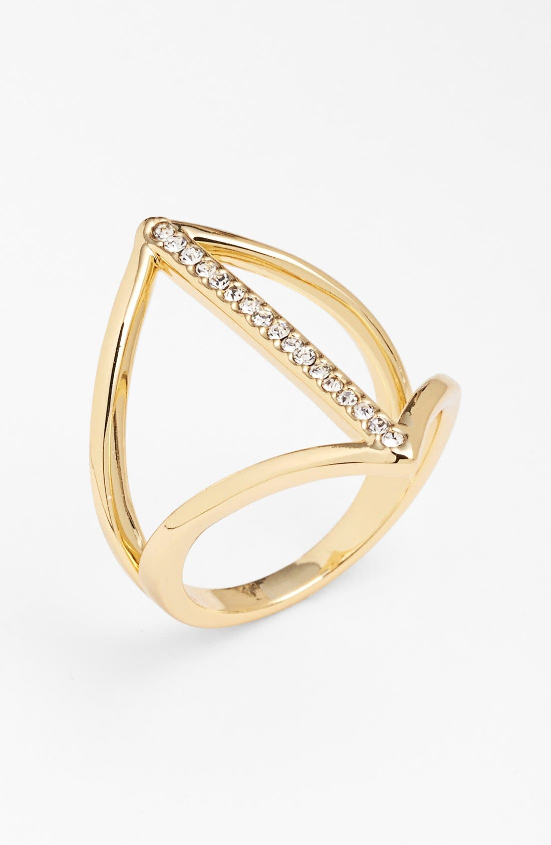 Alternate Image 1 Selected - Ariella Collection Cutout Ring