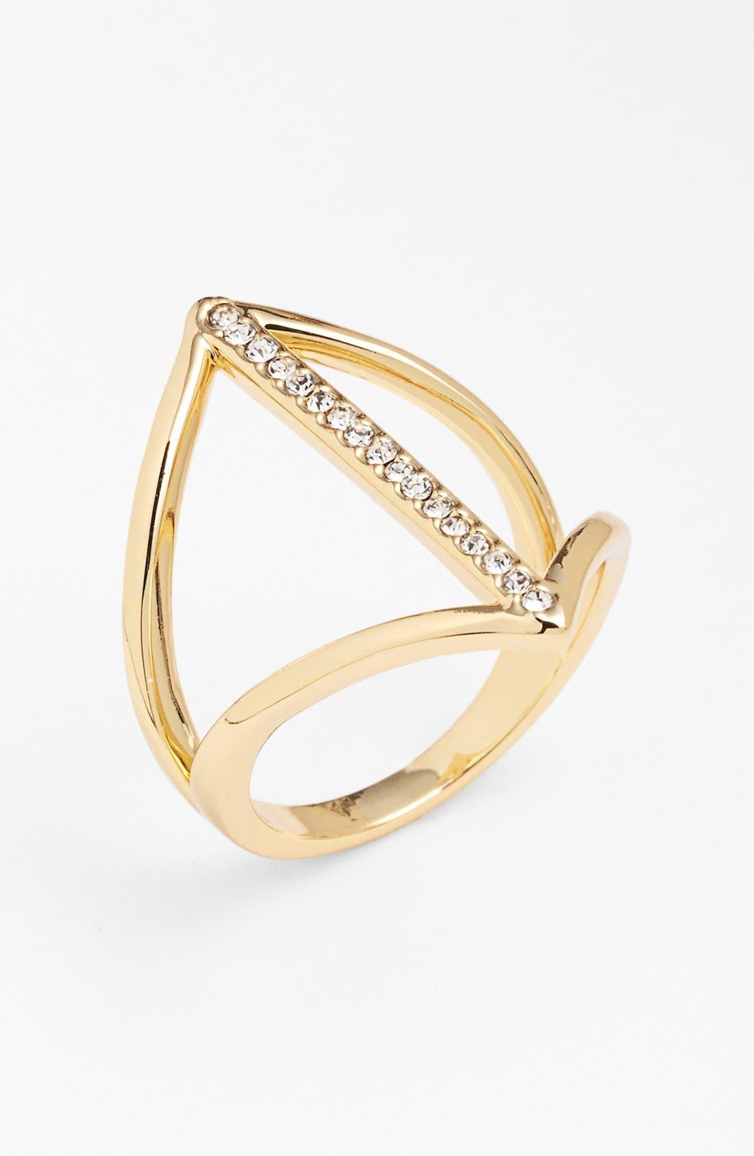 Main Image - Ariella Collection Cutout Ring