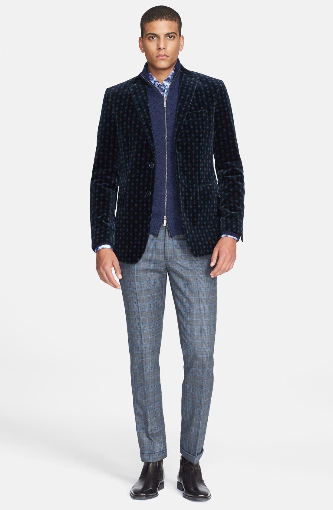 Alternate Image 4  - Etro Wool Zip Sweater