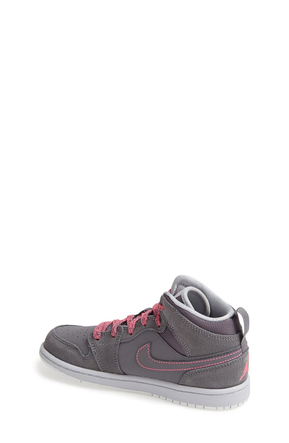 Alternate Image 2  - Nike 'Air Jordan 1 Mid' Sneaker (Toddler & Little Kid)