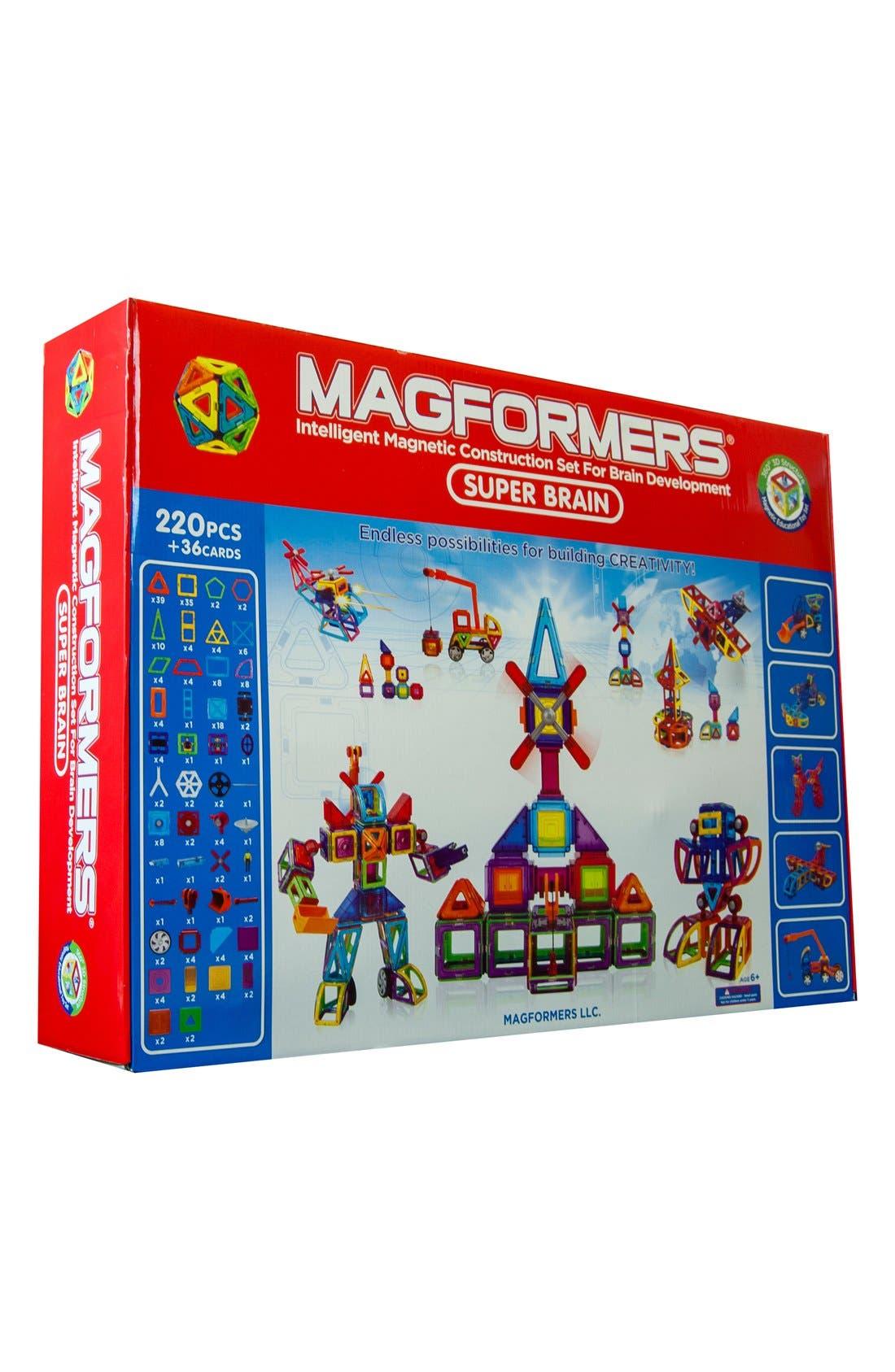 MAGFORMERS 'Super Brain' Construction Set