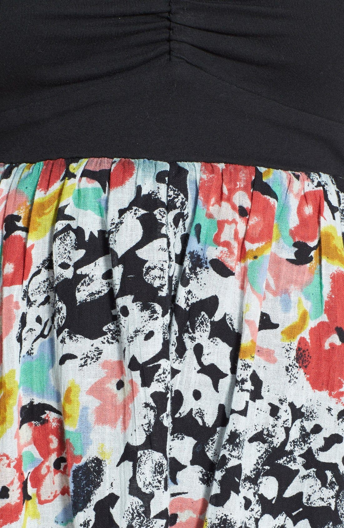 Alternate Image 3  - Volcom 'Spinternship' Floral Print Dress