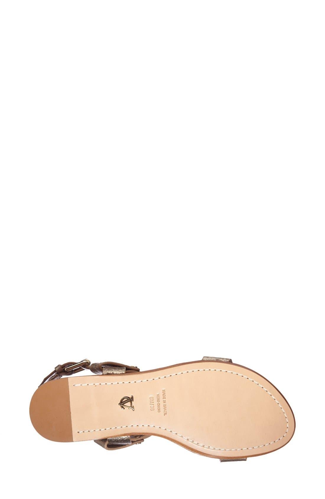 Alternate Image 4  - VC Signature 'Magnoliah' Leather Sandal (Women)