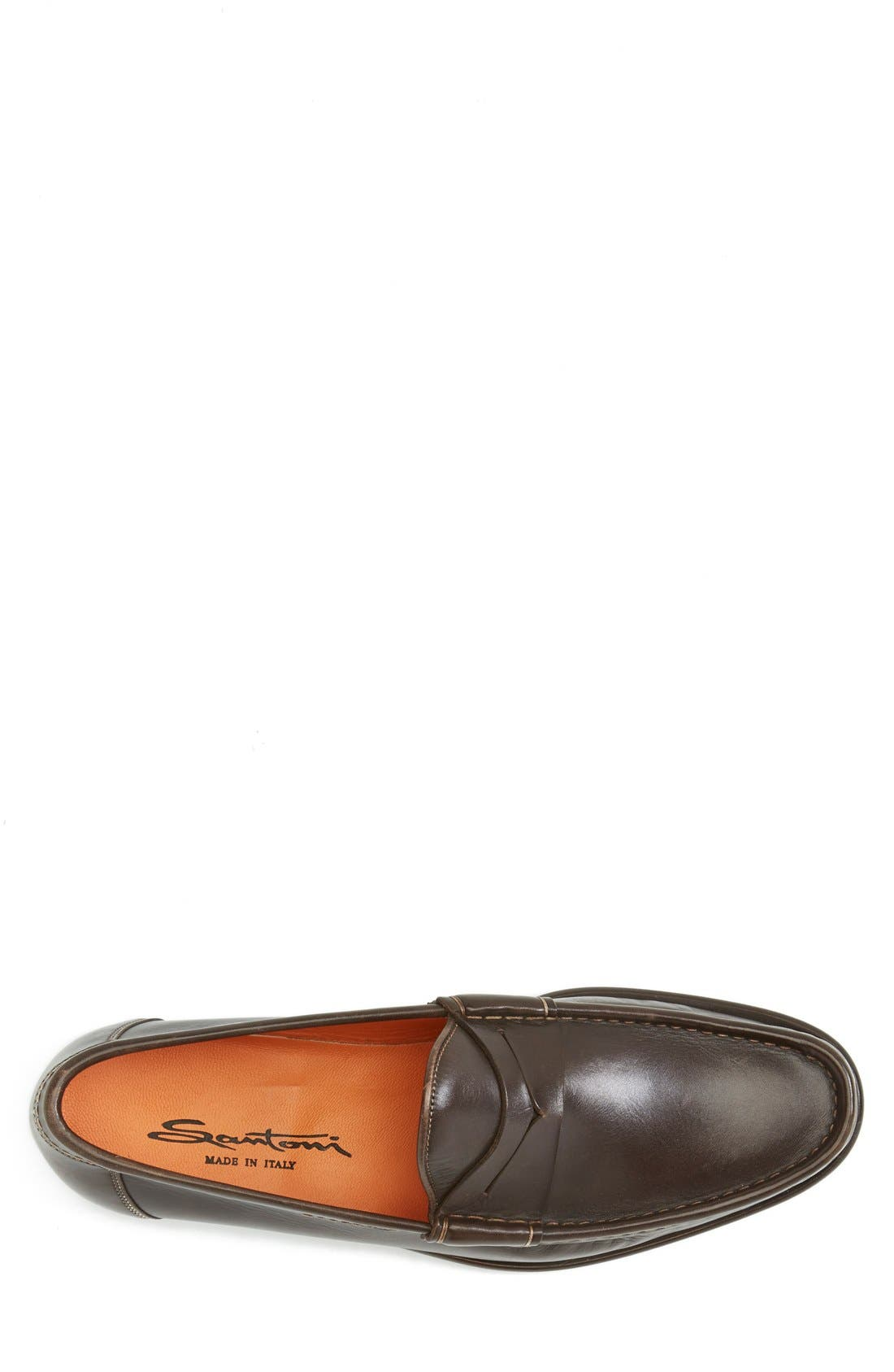 Alternate Image 3  - Santoni 'Quint' Penny Loafer