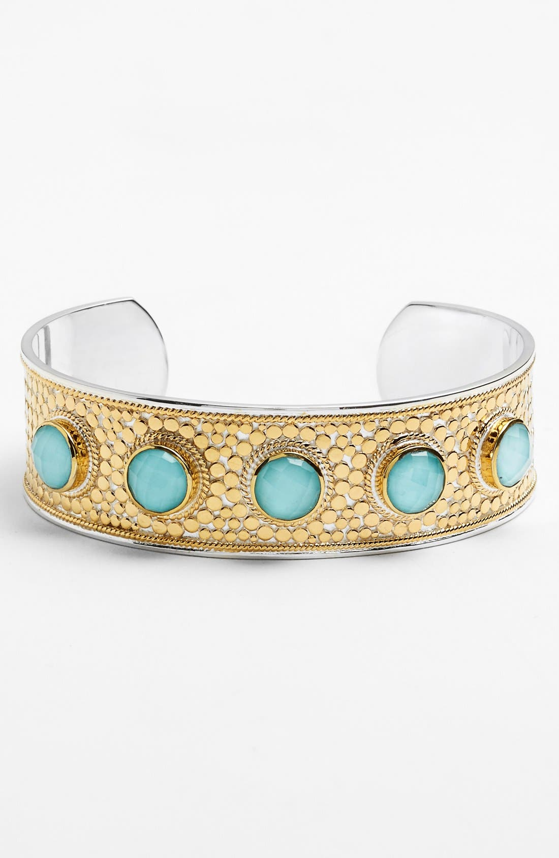 Alternate Image 1 Selected - Anna Beck 'Gili' Turquoise Stone Cuff