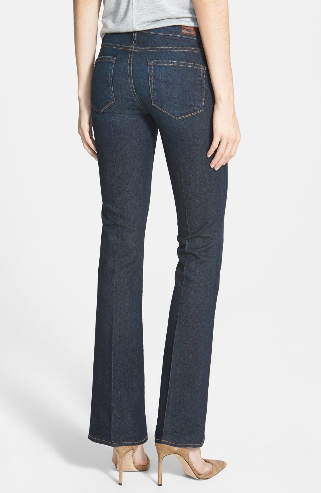 Alternate Image 2  - Paige Denim 'Manhattan' Bootcut Jeans (Moonrise)