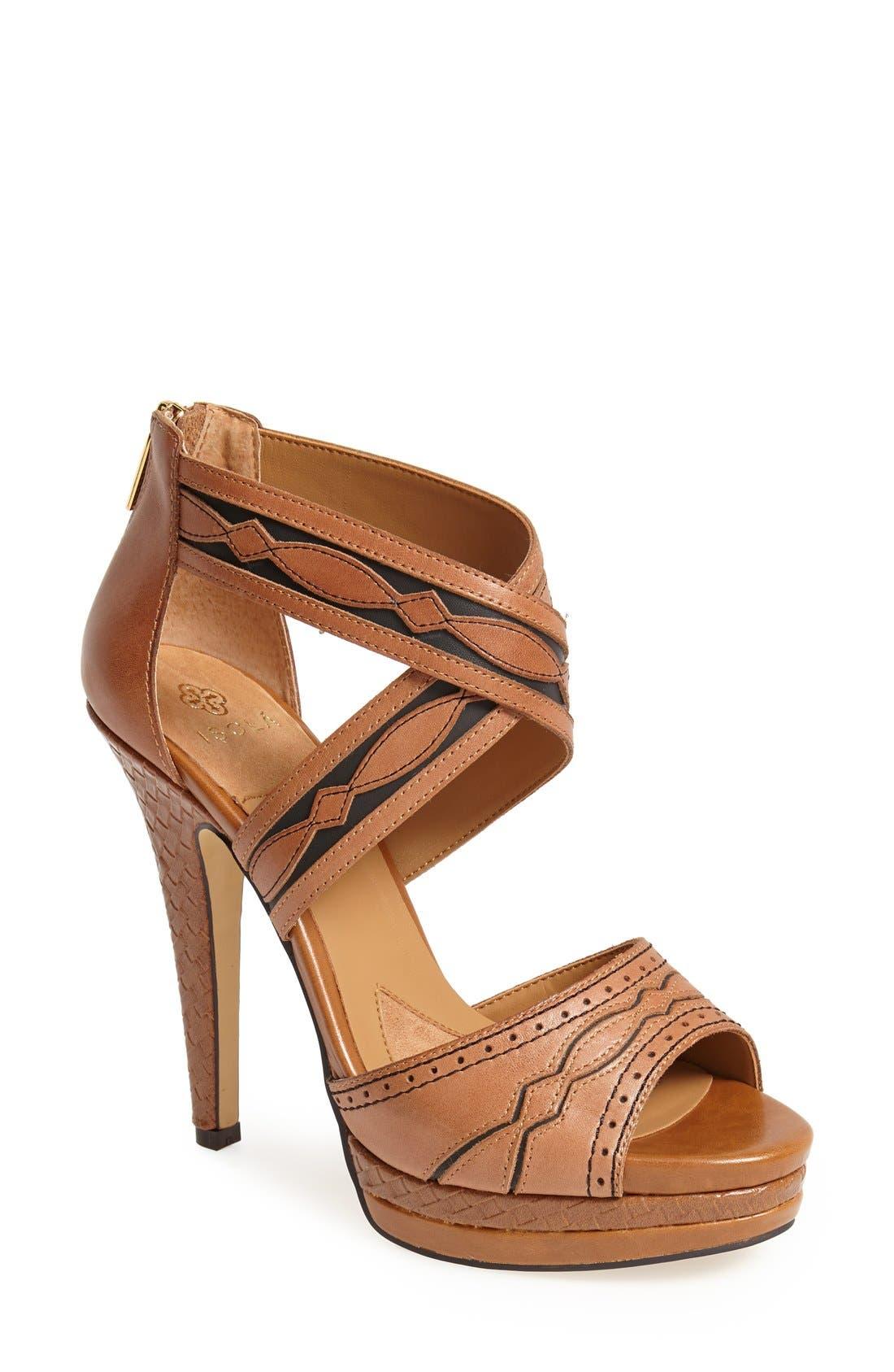 Alternate Image 1 Selected - Isolá 'Dallon' Platform Sandal (Women)