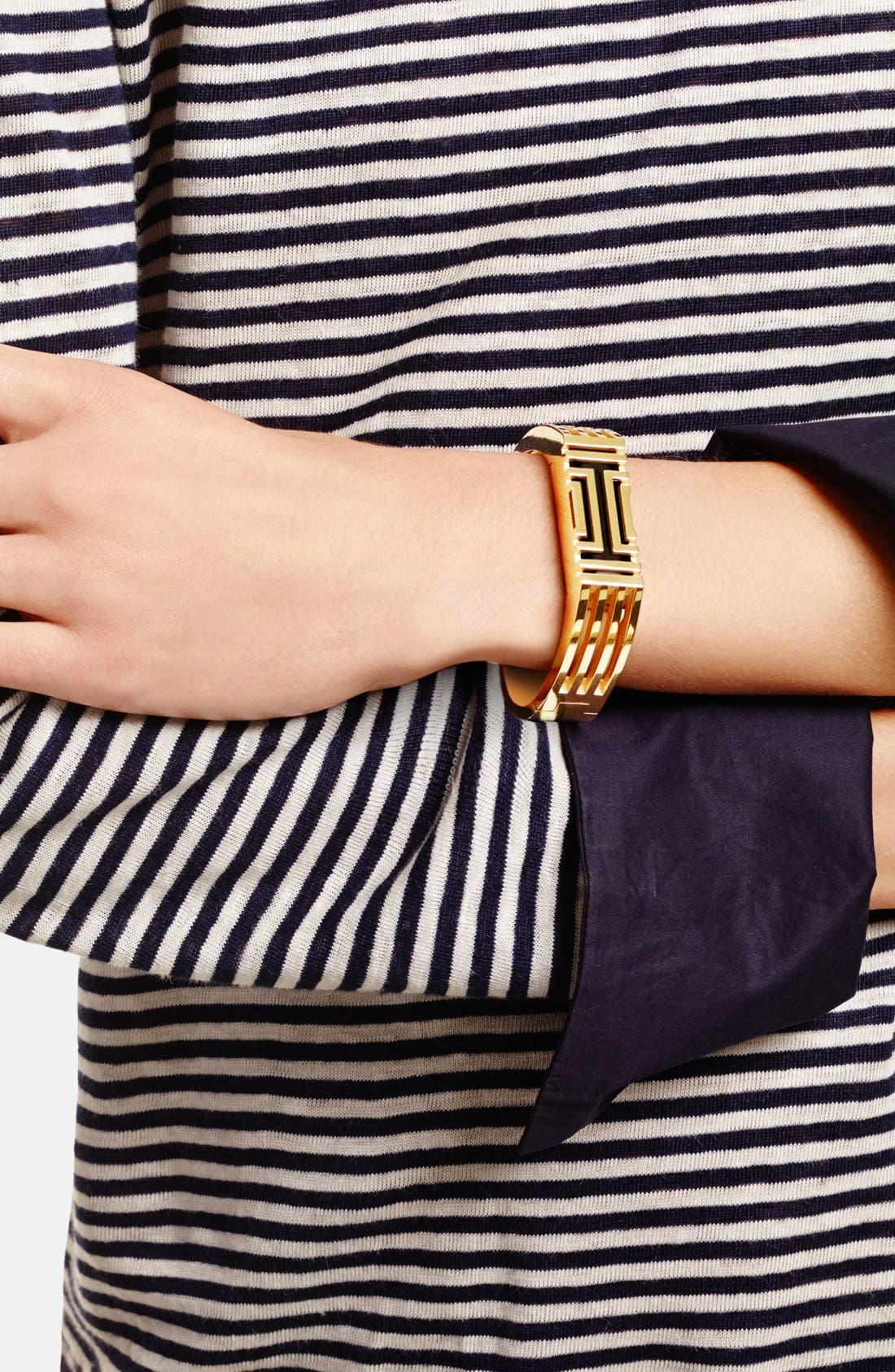 Alternate Image 3  - Tory Burch for Fitbit® Hinged Bracelet