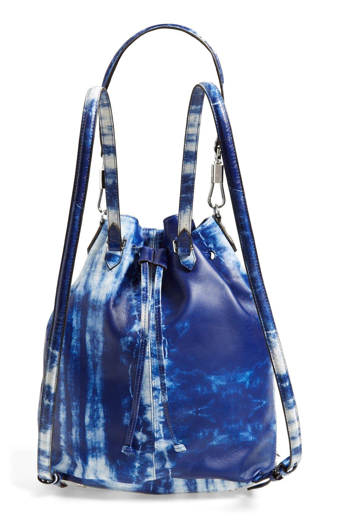 Alternate Image 6  - Elizabeth and James 'Cynnie' Tie Dye Sling Backpack