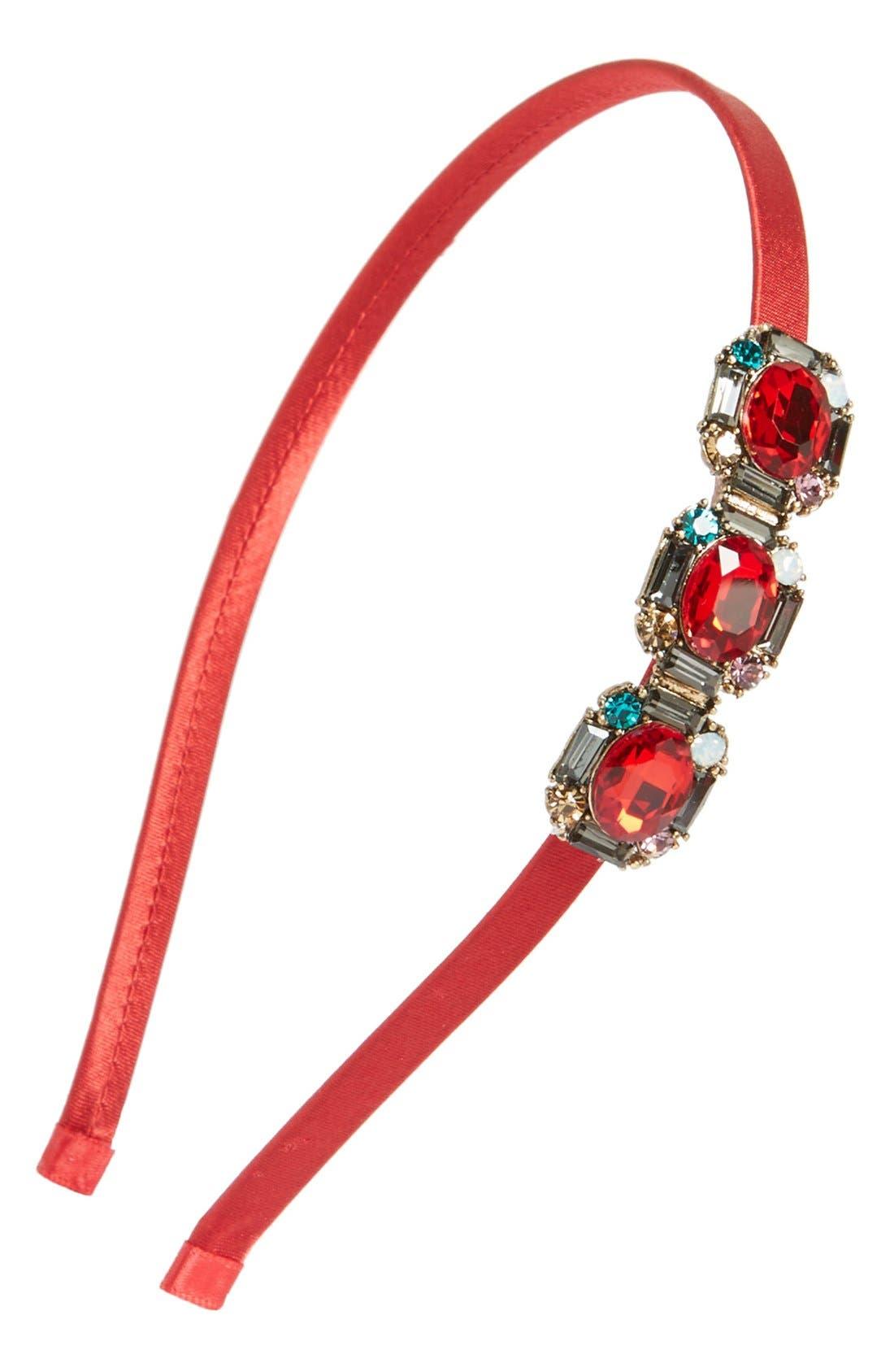 Main Image - Cara Jeweled Headband