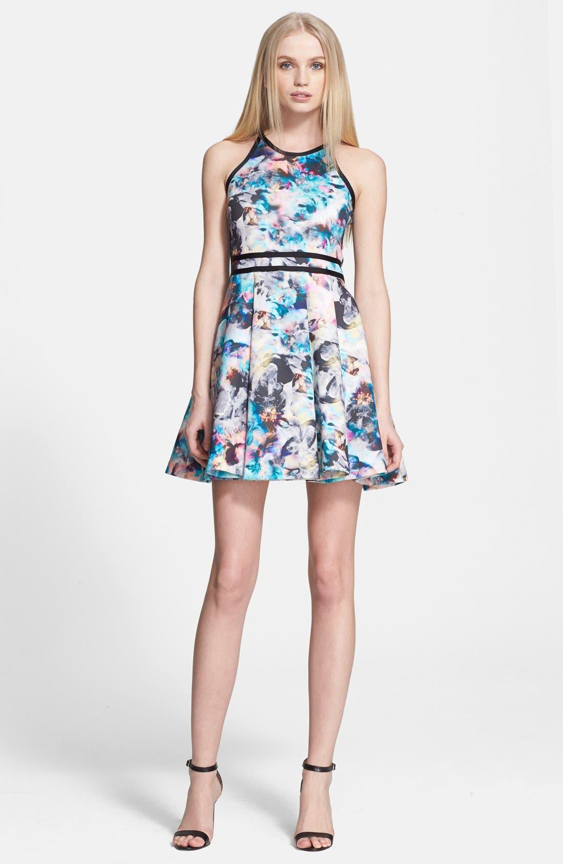 Alternate Image 1 Selected - Parker 'Emmy' Print Fit & Flare Dress