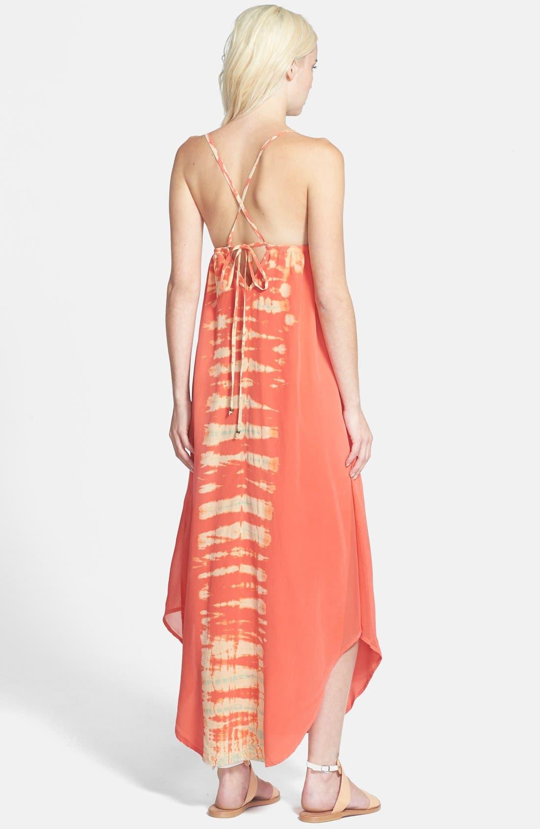 Alternate Image 2  - Gypsy 05 Strappy Tie-Dye Maxi Dress
