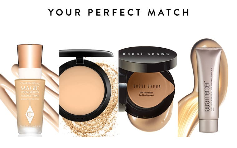 Your perfect match: foundations and foundation finder guide.