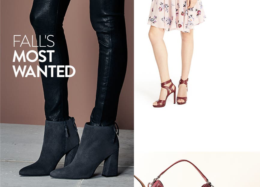 Fall's most-wanted contemporary shoes.