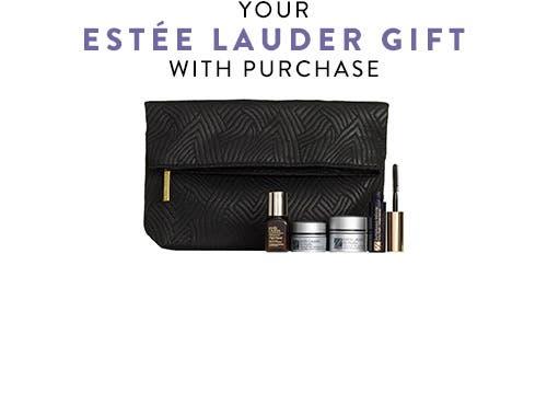 Estée Lauder gift with purchase.