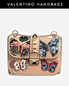 Valentino Garavani handbags.