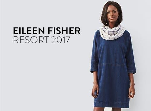 Eileen Fisher resort 2017.