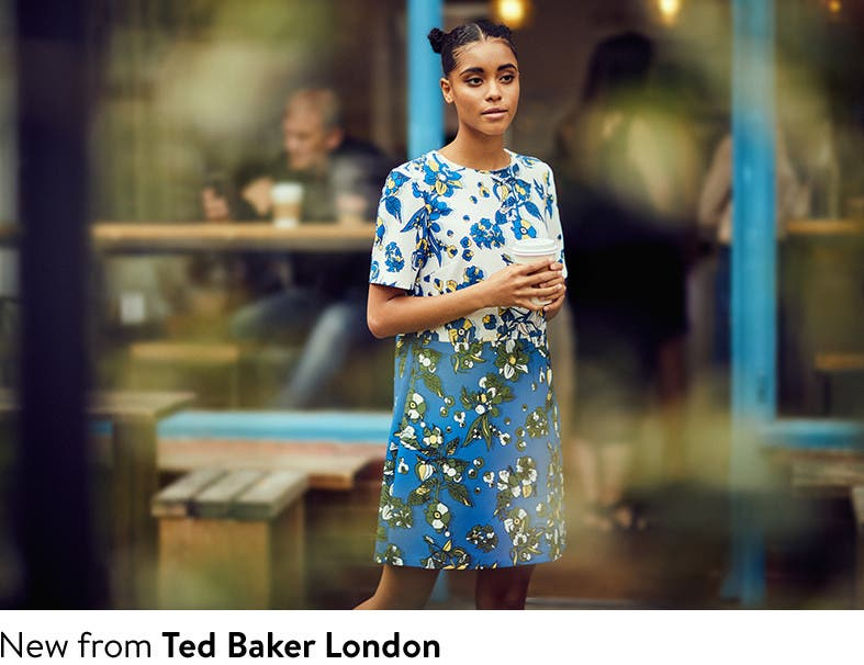 New from Ted Baker London: the fall 2017 collection.