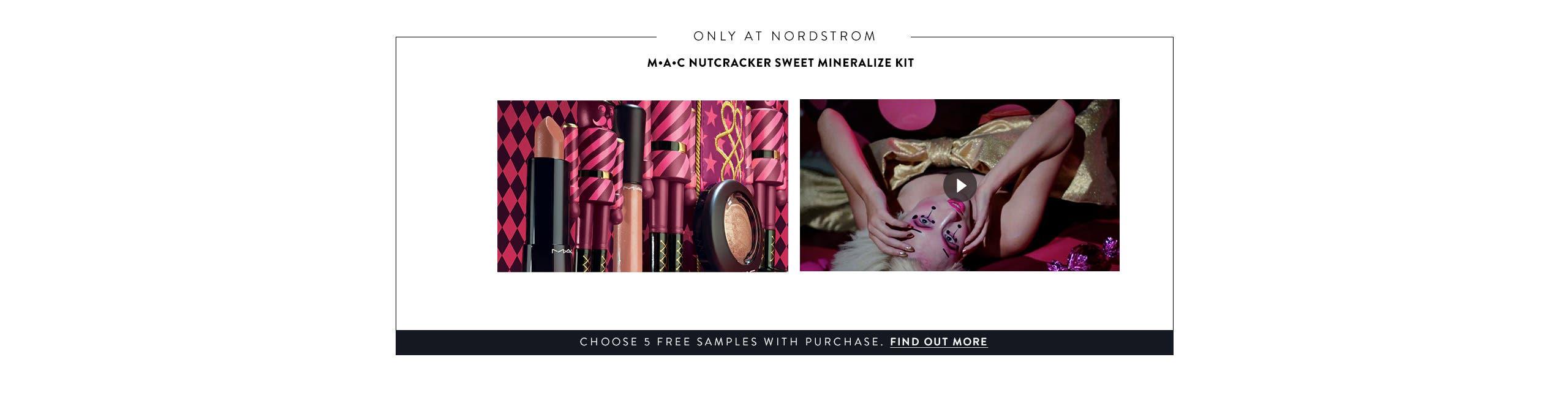 MAC: The Nutcracker Sweet Mineralize Kit.