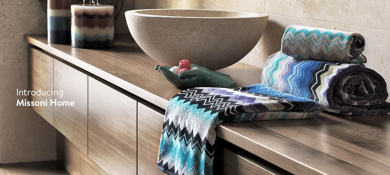 Introducing Missoni Home