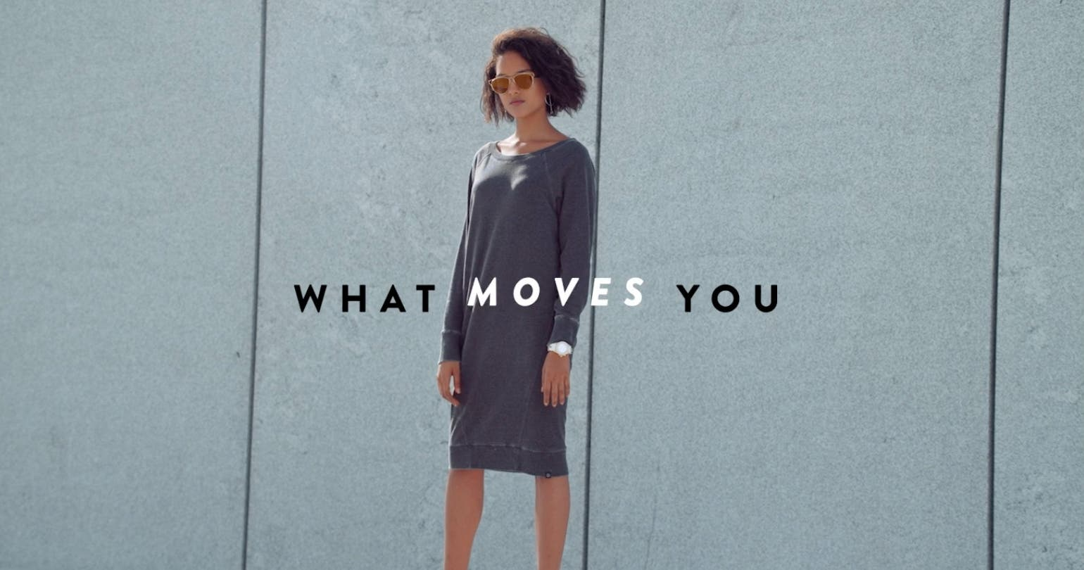 What moves you: women's active and athleisure clothing and shoes.