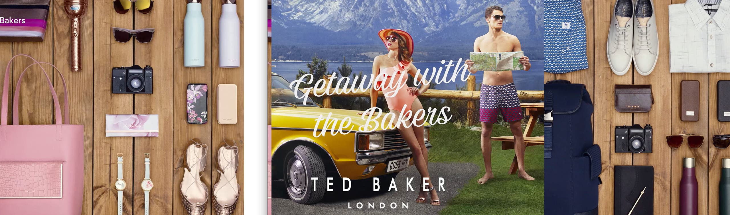 Getaway with the Bakers: video from Ted Baker London.