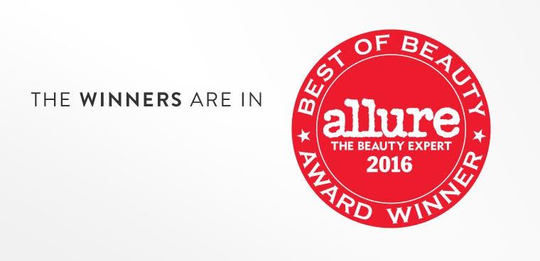 Allure Best of Beauty Award Winners 2016.