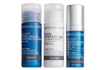 Receive a free 3-piece bonus gift with your $75 Paula's Choice purchase