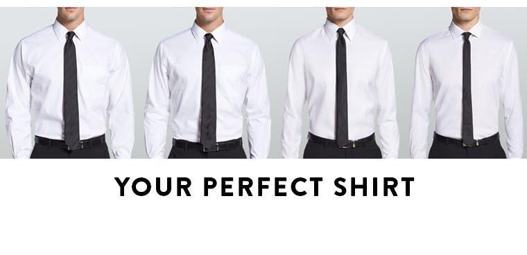 Your perfect dress shirt.