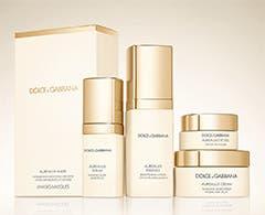 Dolce&Gabbana skin care.