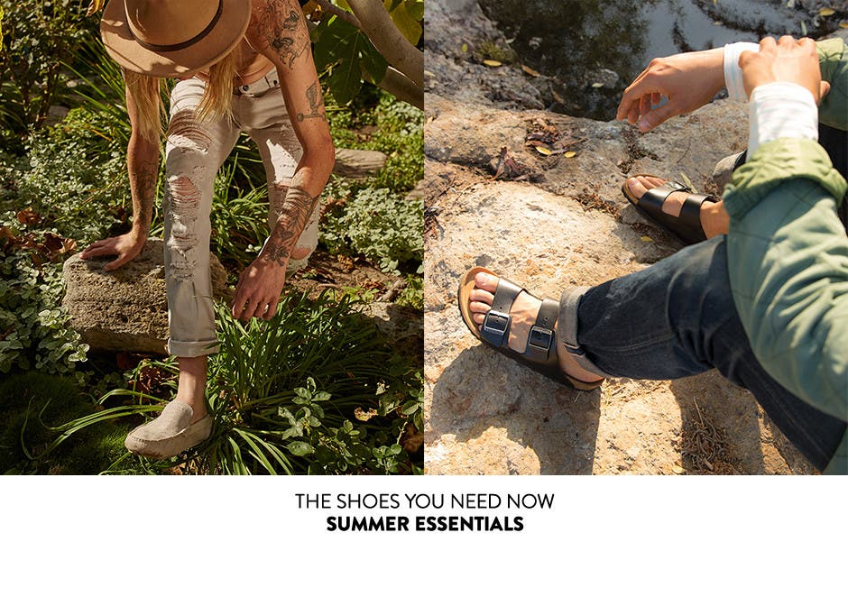 The shoes you need now: summer essentials. Shop now.