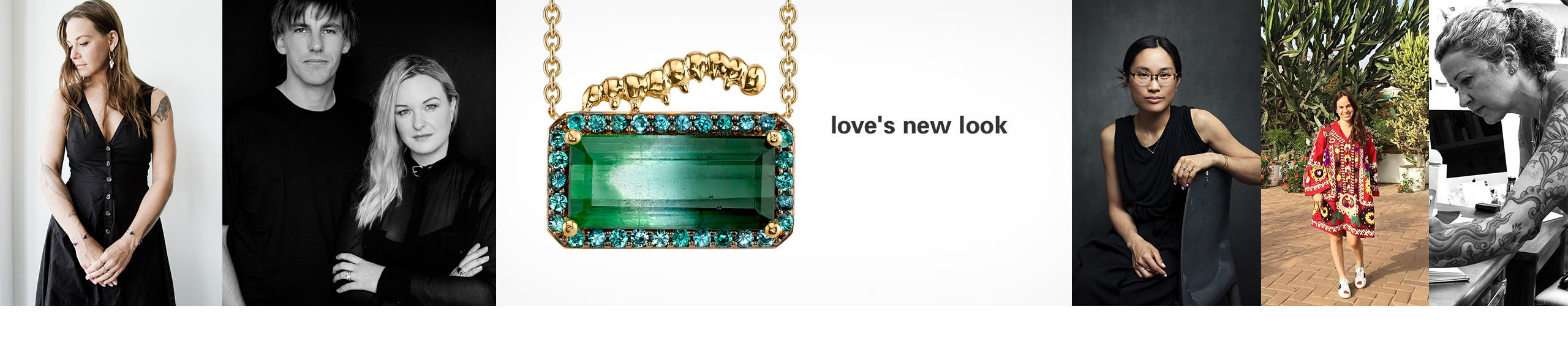 Love's new look. Our exclusive Valentine's Day jewelry collections from Daniela Villegas and more.