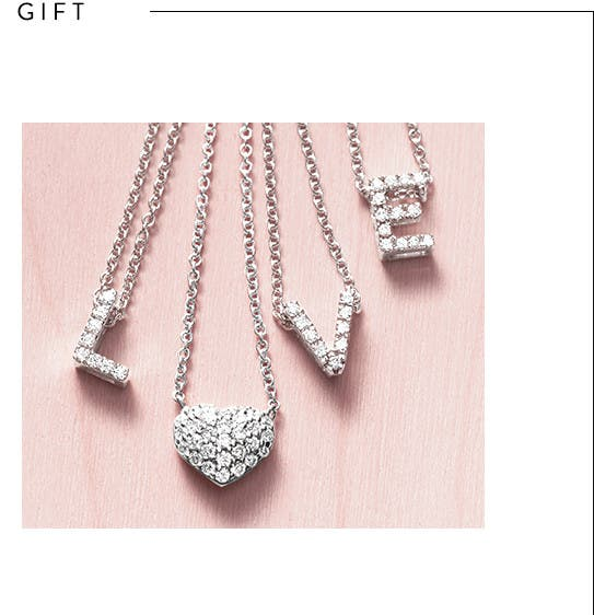 Valentine's Day jewelry gifts for women.