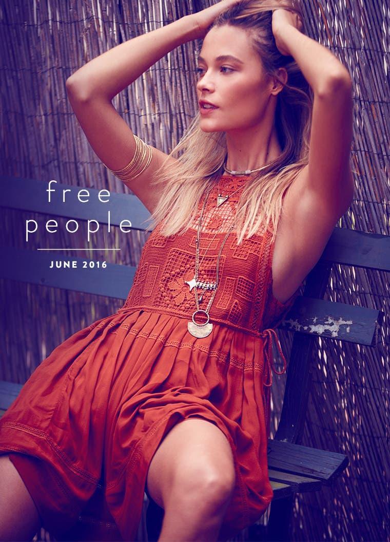 Free People June 2016.